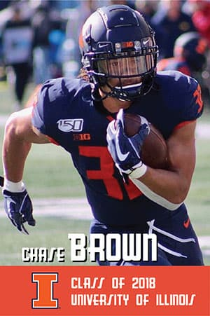 Chase Brown Class of 2018 University of Illinois