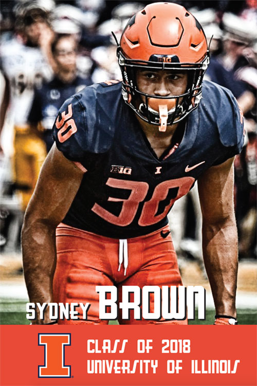 Sydney Brown Class of 2018 University of Illinois