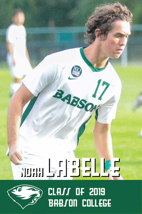 Noah Labelle Class of 2019 Babson College