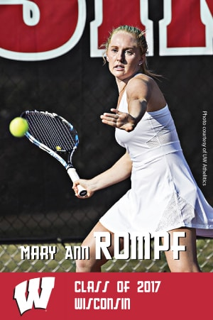 Mary Ann Rompf Class of 2017 Wisconsin