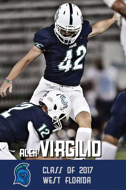 Alex Virgillio Class of 2017 West Florida