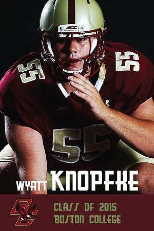 Wyatt Knopfke - Class of 2016 - Boston College